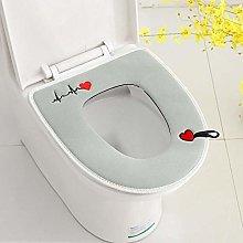 Bathroom Soft Thicker Warmer Stretchable Washable