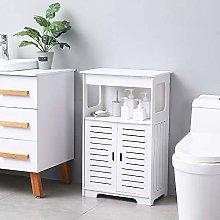 Bathroom Storage Cabinet, Free Standing Double