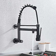 Bathroom Taps Sink Taps Blackend Wall Mounted