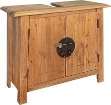 Bathroom Vanity Cabinet Solid Recycled Pinewood