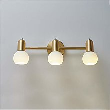 Bathroom Vanity Light Fixtures with White Glass