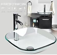 Bathroom Vessel Sink Faucet Pop-up Drain Bath