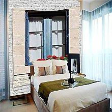 Bathroom WallpaperDNHFUI Windows, Walls, Art Peel