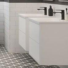 Bathrooms To Love - BTL Perla 900mm 2 Drawer Wall