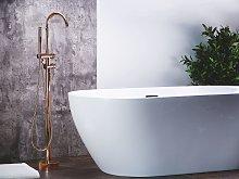 Bathtub Faucet Copper Colour Chrome Freestanding