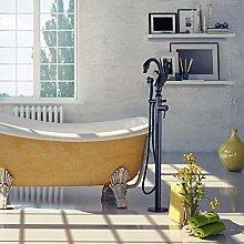 Bathtub Faucet Swan Style Rotatable Floor Stand