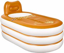 Bathtub Portable inflatable, with backrest