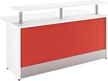 Batista Reception Desk (Red), Red