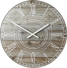 Batres Wall Clock Williston Forge Size: Large