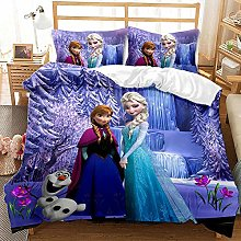 BATTE Disney Frozen Baby Kids Bedding Set, Cartoon