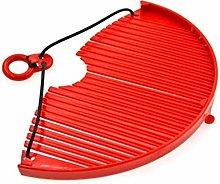 Batter Strainer Expandable Colander (Red)