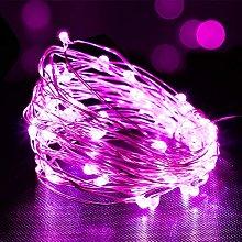 Battery Fairy Lights, 5M 50 LEDs Battery Powered