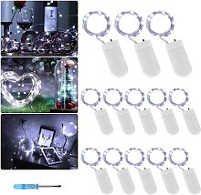 Battery Powered String Lights (Included) Pack of