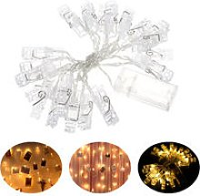 Batterys Powered 20leds Warm White Fairy String