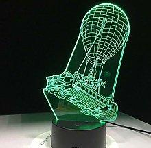 Battle Bus Souvenir 3D Multi-Color Table lamp LED