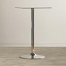 Bauder Bar Table Metro Lane Colour: Clear Glass