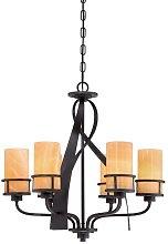 Bavaria 6-Light Shaded Chandelier Red Barrel Studio