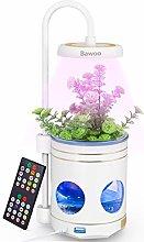 Bawoo Plant Grow Light, 4 in 1 Beside Lamp Smart