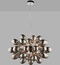 Bay Lighting Grandeur Glass Ceiling Light, Black