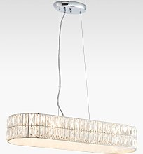 Bay Lighting Nina LED Crystal Bar Diffuser Ceiling