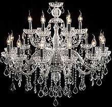 BAYCHEER Chandeliers Ceiling 12 Lights Crystal