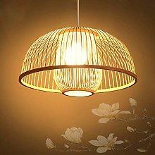 BAYCHEER Handmade Rattan Lampshade, Ceiling Light