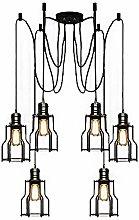 BAYCHEER Industrial Pendant Light Retro Industrial