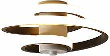 Baycheer Modern Spiral Ceiling Light Acrylic