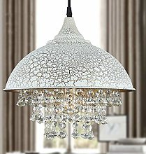 BAYCHEER Modern Vintage Crystal Pendant Light