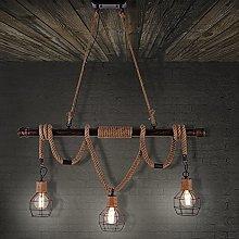 BAYCHEER Rope Pendant Light Industrial Ceiling