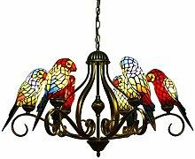 BAYCHEER Vintage Tiffany Chandelier Lantern