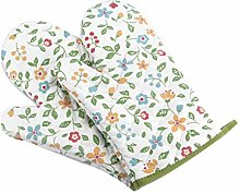 Bayda 1 Pair Oven Mitts Floral Kitchen Gloves for