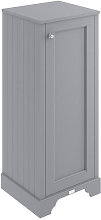 Bayswater Plummett Grey Tall Bathroom Cabinet 1165