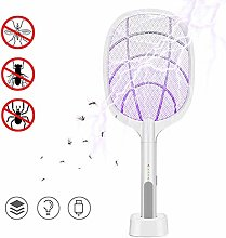 Baywell Bug Zapper Racket, Electric Fly Swatter,