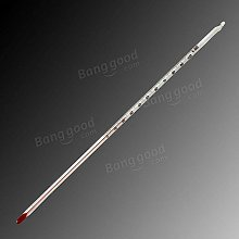 Bazaar 0-100 Degree Glass Thermometer Home Brew