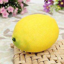 Bazaar Large Lemons Decorative Plastic Solid