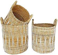 Bazar Bizar - Small White Banana Basket