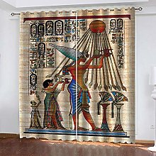Bbaodan Blackout Curtains For Bedroom Vintage &