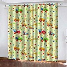 Bbaodan kids blackout Eyelet curtains, pair W46 x