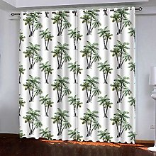 Bbaodan Thermal Blackout Curtains Solid Eyelet