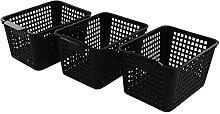 Bblina 6-pack Storage Plastic Basket, Kitchen