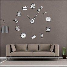 BBNNN AcrylicDIY Wall Clock Tailor Shop Tailor