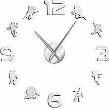 BBNNN Outer space silent quartz wall clock