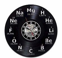 BBNNN Science Circle Biochemistry Vinyl Wall Clock