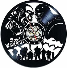 BBNNN Vinyl Wall Clock World of Warcraft Wall