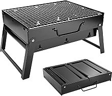BBQ Barbecue Grill, Portable Folding Charcoal