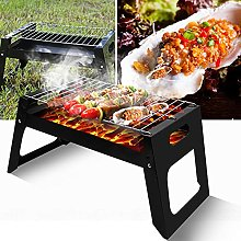 BBQ Charcoal Grill, Portable Folding Charcoal