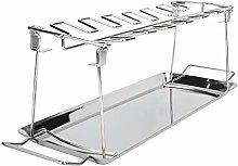 BBQ Chicken Holder Stainless Steel Folding BBQ