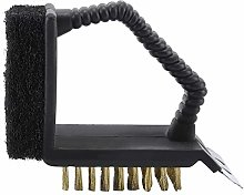 BBQ Cleaner Brush 3-in-1 Durable Portable for Gas