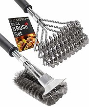 BBQ Grill Brush Set of 2, Safe Grill Cleaning